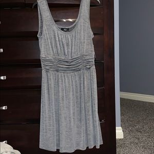 Large gray AGB dress NWT